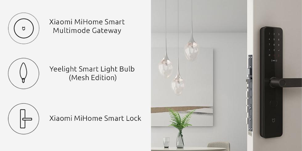 Центр управления умным домом Xiaomi Mijia Smart Multi-Mode Gateway 3