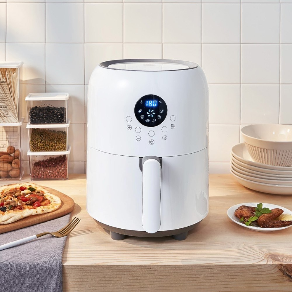Xiaomi Youpin Youban Electric Air Fryer Sales Online white - Tomtop